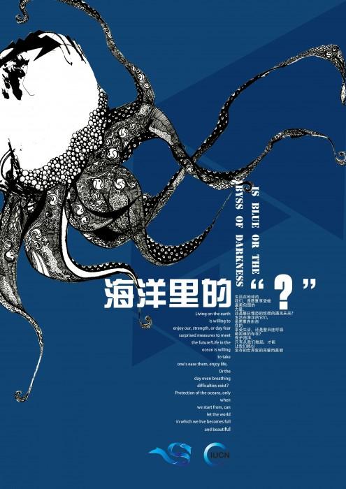 全国大中学生第四届海洋文化创意设计大赛艺术设计系图片